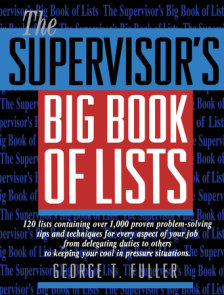 The Supervisor's Big Book of Lists