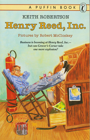 Henry Reed, Inc. by Keith Robertson
