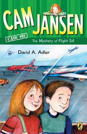 Cam Jansen: the Mystery of Flight 54 #12 by David A. Adler