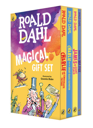 Roald Dahl Magical Gift Set (4 Books) by Roald Dahl