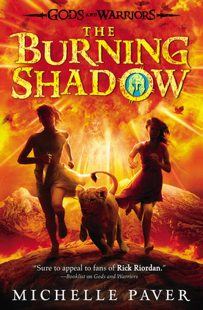 The Burning Shadow by Michelle Paver