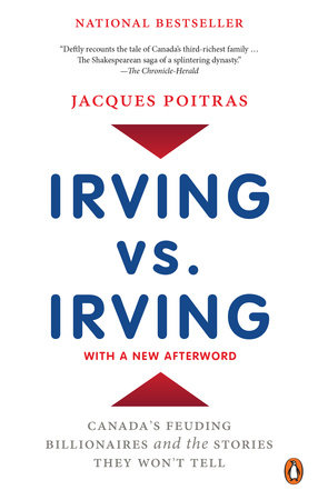 Irving vs. Irving by Jacques Poitras