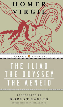 The Iliad, The Odyssey, and The Aeneid Box Set by Homer and Virgil