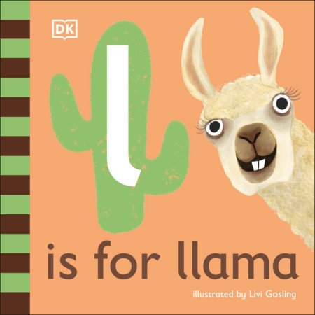 L is for Llama by DK