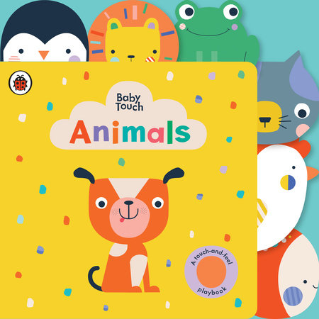 Animals: A Touch-and-Feel Playbook by Ladybird
