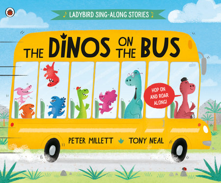 The Dinos on the Bus by Peter Millett