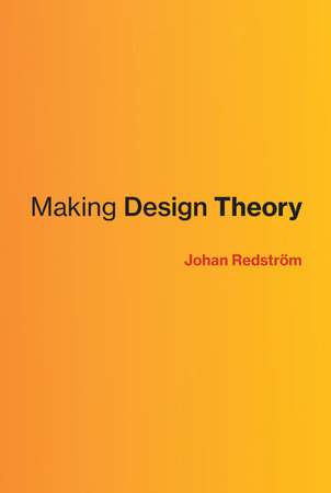 Making Design Theory by Johan Redstrom