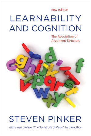 Learnability and Cognition, new edition by Steven Pinker