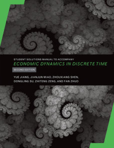 Student Solutions Manual to Accompany Economic Dynamics in Discrete Time, second edition