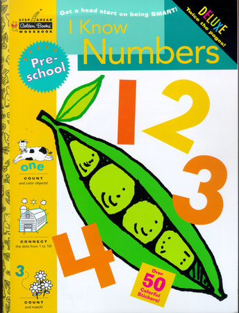 I Know Numbers (Preschool) by Golden Books
