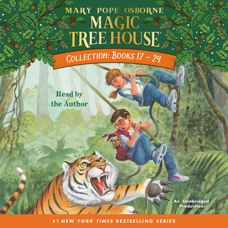 Magic Tree House Collection: Books 17-24 by Mary Pope Osborne