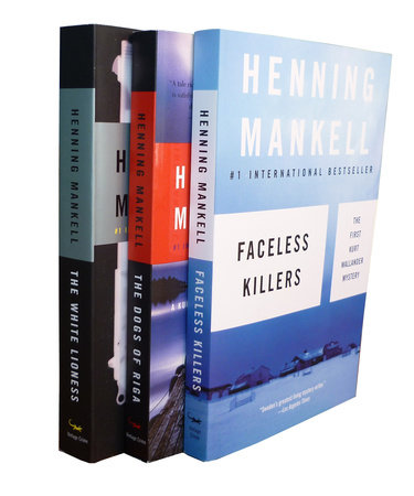 Henning Mankell Wallander Bundle: Faceless Killers, The Dogs of Riga, The White by Henning Mankell