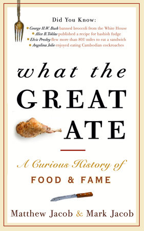 What the Great Ate by Matthew Jacob and Mark Jacob