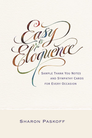 Easy Eloquence by Sharon Paskoff