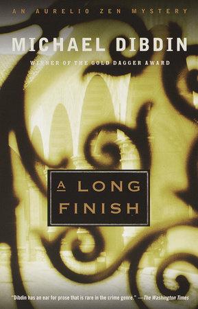 A Long Finish by Michael Dibdin