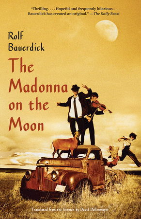 The Madonna on the Moon by Rolf Bauerdick