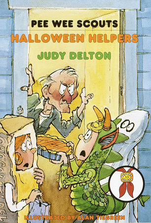 Pee Wee Scouts: Halloween Helpers by Judy Delton