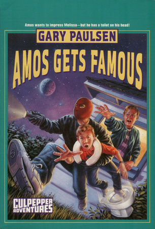AMOS GETS FAMOUS by Gary Paulsen