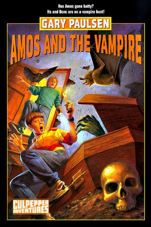 AMOS AND THE VAMPIRE by Gary Paulsen