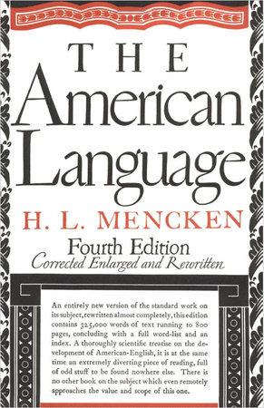 American Language by H.L. Mencken