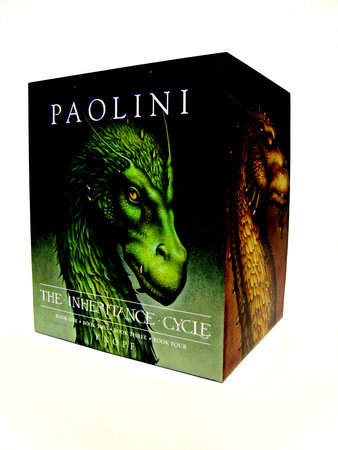Inheritance Cycle 4-Book Hard Cover Boxed Set (Eragon, Eldest, Brisingr, Inheritance) by Christopher Paolini