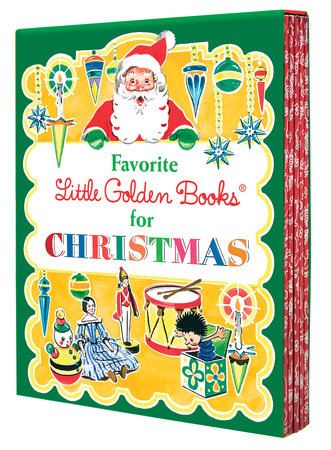 Favorite Little Golden Books for Christmas 5-Book Boxed Set by Various