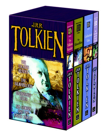 Tolkien Fantasy Tales 4c box set MM by J.R.R. Tolkien