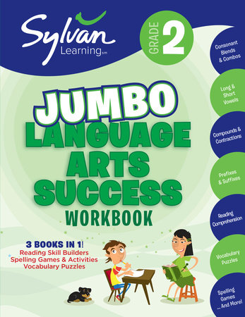 2nd Grade Jumbo Language Arts Success Workbook by Sylvan Learning