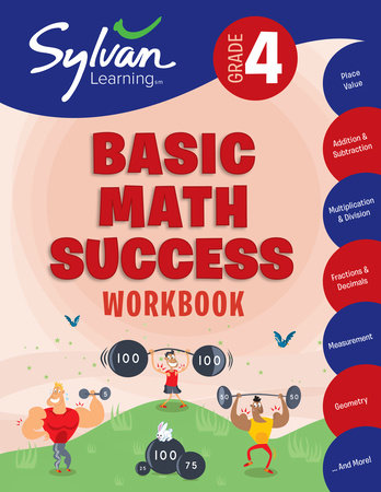 4th Grade Basic Math Success Workbook by Sylvan Learning