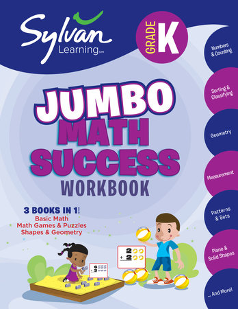 Kindergarten Jumbo Math Success Workbook
