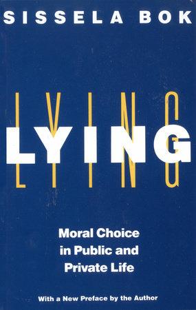 Lying by Sissela Bok