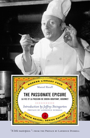 The Passionate Epicure by Marcel Rouff