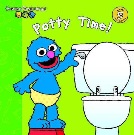 Sesame Beginnings: Potty Time! (Sesame Street) by Parker K. Sawyer
