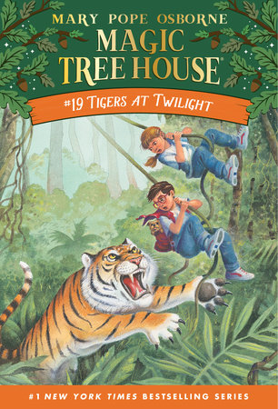 Tigers at Twilight by Mary Pope Osborne