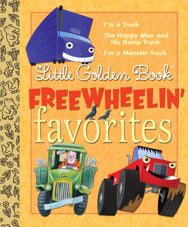 Little Golden Book Freewheelin Favorites by Dennis R. Shealy and Miryam