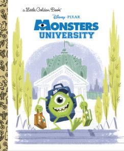 Monsters University Little Golden Book (Disney/Pixar Monsters University)