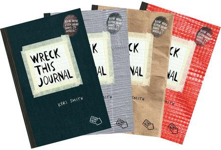 Wreck This Journal Bundle Set by Keri Smith