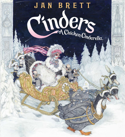 Cinders by Jan Brett