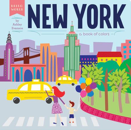 New York by Ashley Evanson; Illustrated by Ashley Evanson