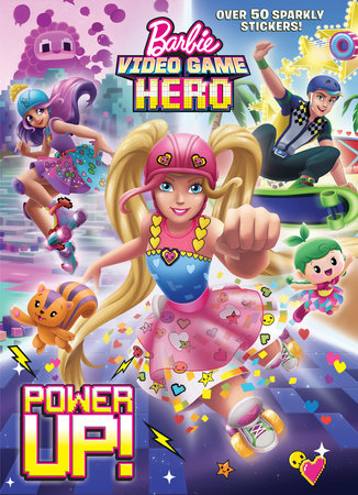 Power Up! (Barbie Video Game Hero) by Golden Books