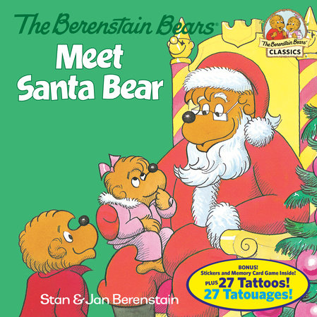 The Berenstain Bears Meet Santa Bear (Deluxe Edition) by Stan Berenstain and Jan Berenstain