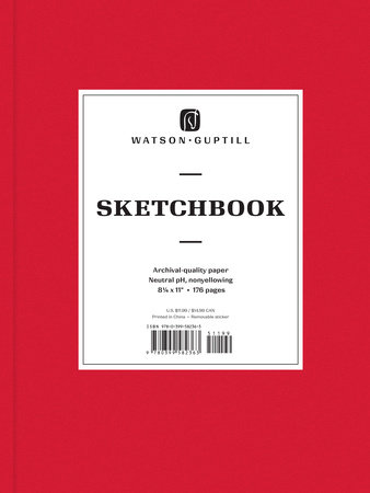 Large Sketchbook (Ruby Red) by Watson-Guptill