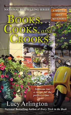Books, Cooks, and Crooks by Lucy Arlington