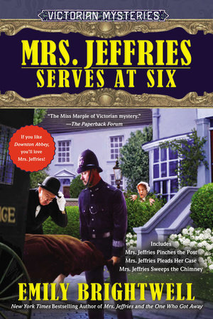 Mrs. Jeffries Serves at Six by Emily Brightwell