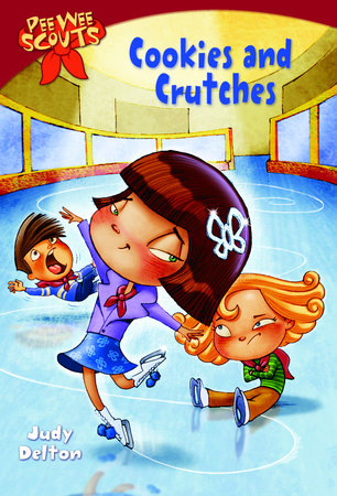 Pee Wee Scouts: Cookies and Crutches by Judy Delton