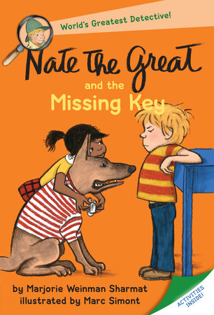Nate the Great and the Missing Key by Marjorie Weinman Sharmat; illustrated by Marc Simont