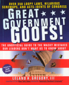Great Government Goofs