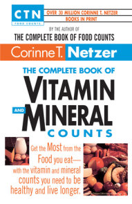 The Complete Book of Vitamin and Mineral Counts