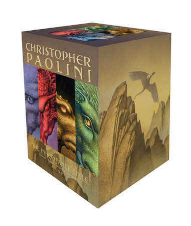 The Inheritance Cycle 4-Book Trade Paperback Boxed Set by Christopher Paolini