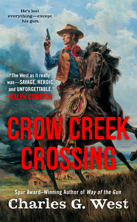 Crow Creek Crossing by Charles G. West